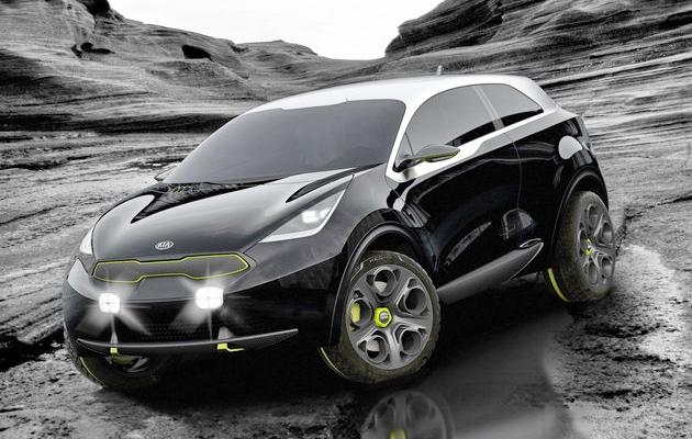 Kia Niro 2016-2017 – первый гибридный внедорожник