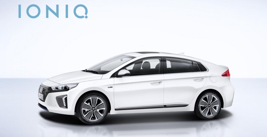 модель 2016 Hyundai Ioniq