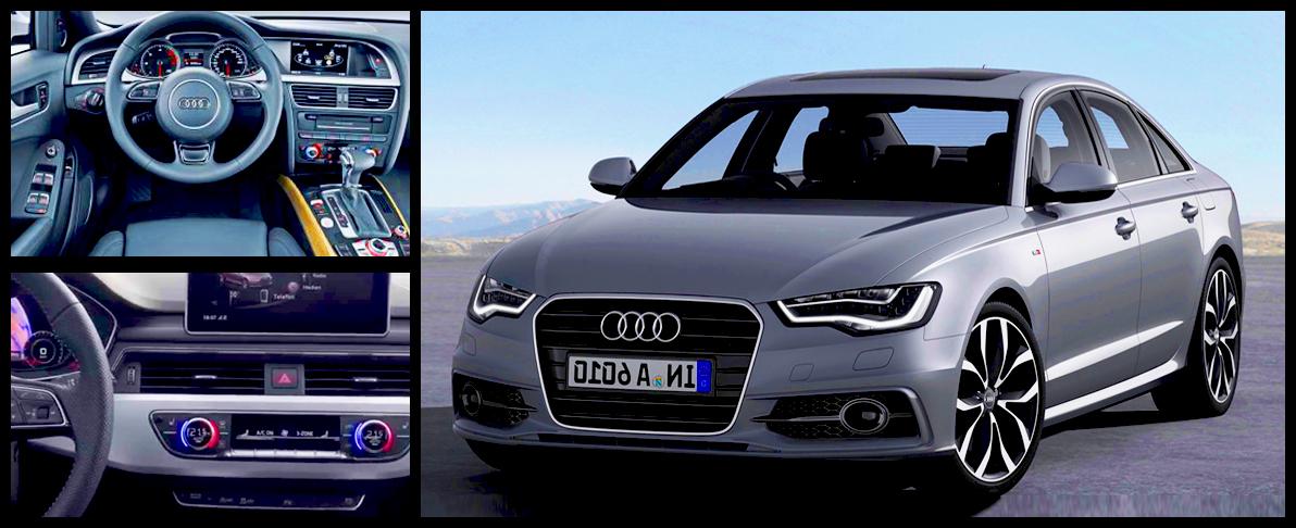 Новое детище компании Audi.