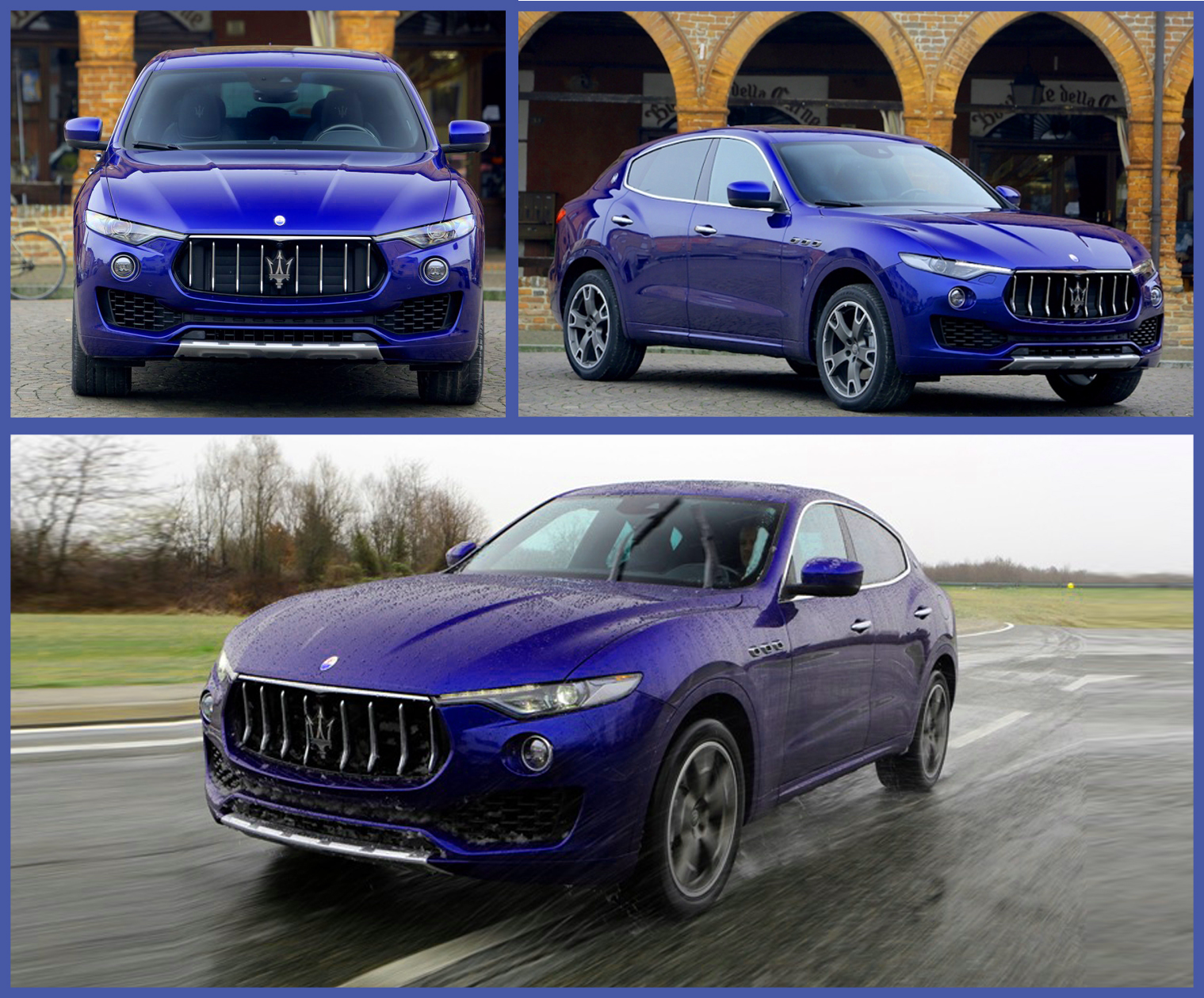 Шикарный Maserati Levante теперь и в Украине