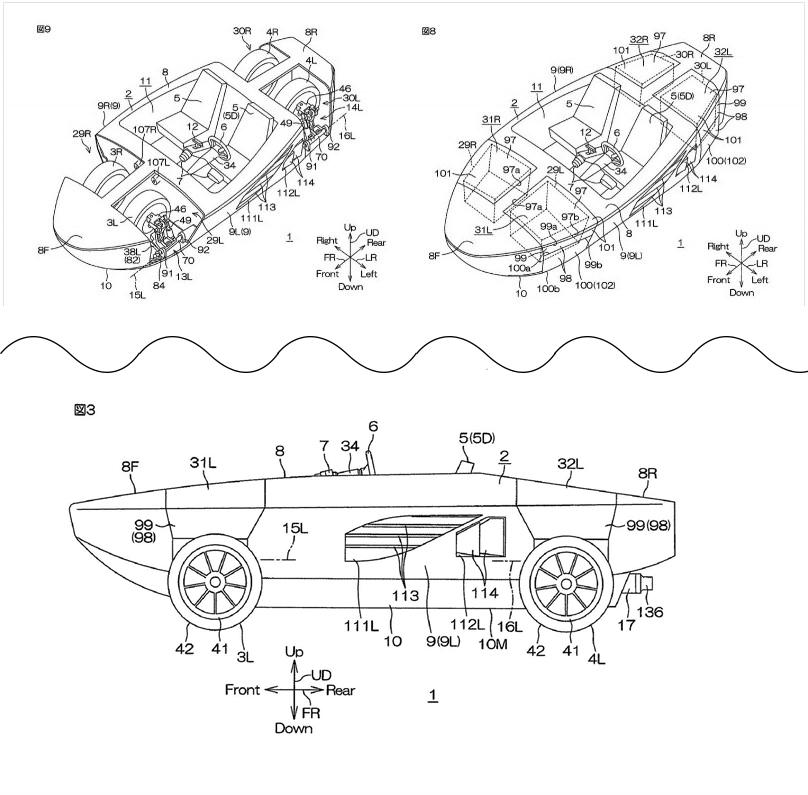 Амфибия от Yamaha: минус колеса, плюс возможности.