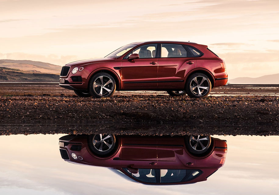 Дебют новой модели от компании Bentley
