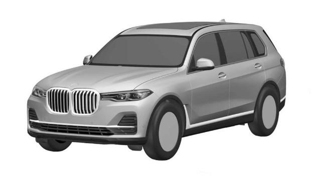 Первые фото нового внедорожника BMW