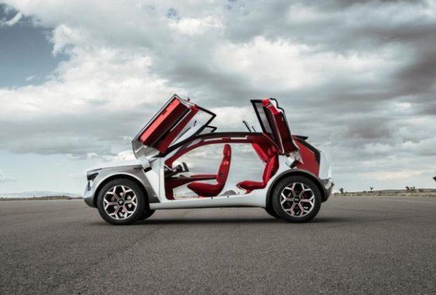Беспилотный электромобиль от компании Kia