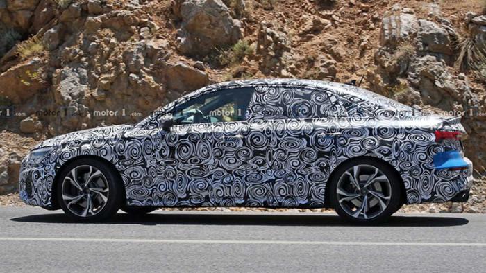 Новый седан Audi S3