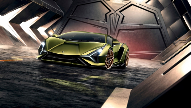 Быстрый суперкар от Lamborghini