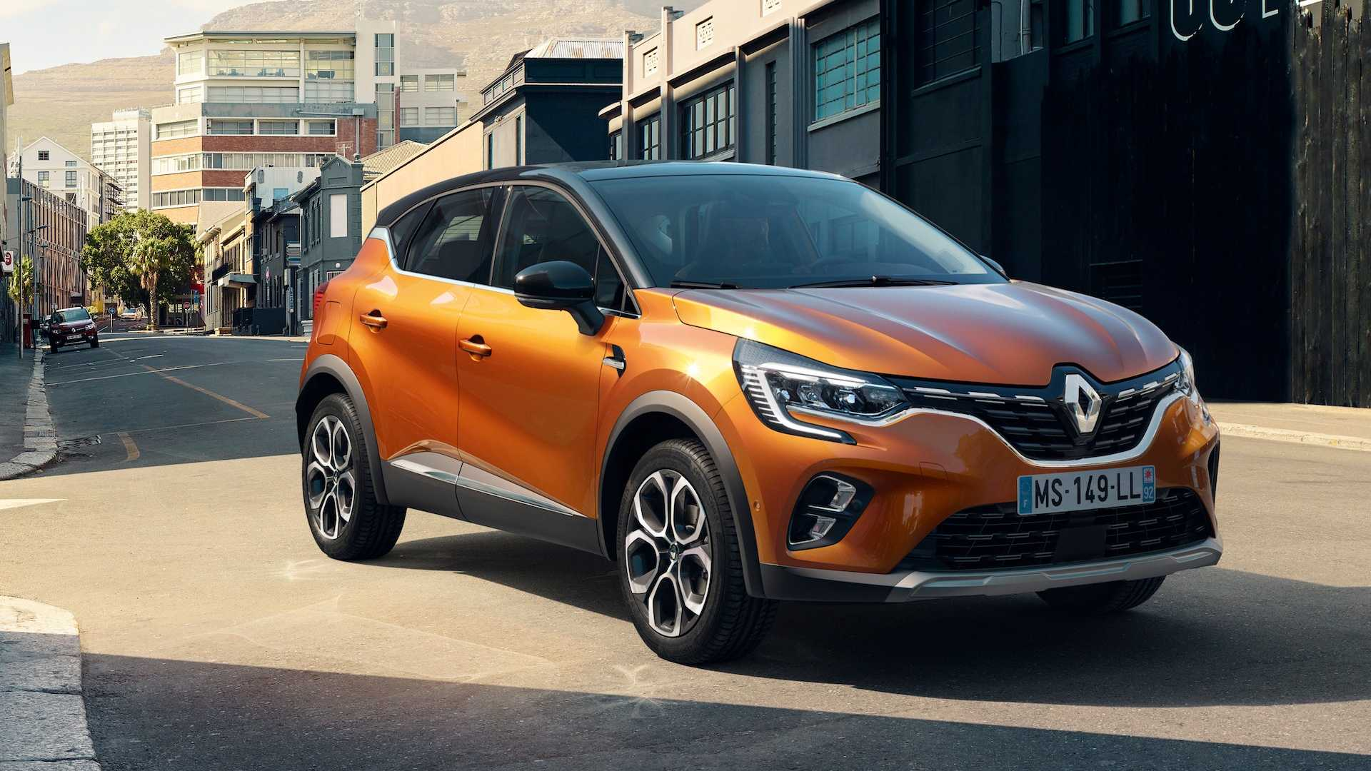 Renault Captur 2020 проедет на электричестве 45 км